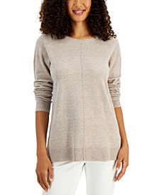 Plush Seamed Sweater, Created for Macy's