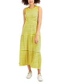 Striped Sleeveless Maxi Dress, Created for Macy's