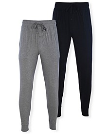 Men's Knit Joggers, Pack of 2