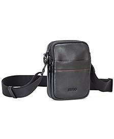 HUGO Men's Rocket Faux-Leather Reporter Bag