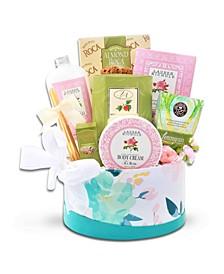 Tea and Spa Gift Basket