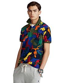 Men's Classic-Fit Polo Pony Camo Polo Shirt