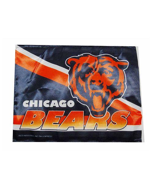 Rico Industries  Chicago Bears Car Flag