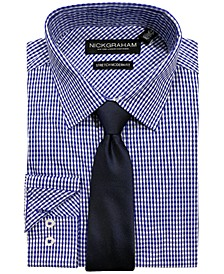 Men's Modern-Fit Dress Shirt and Tie