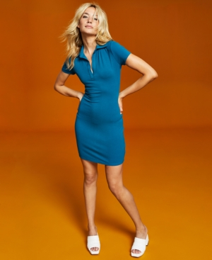 Women's Ribbed Bodycon Dress