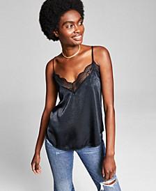 Women's Lace-Trim Tank Top