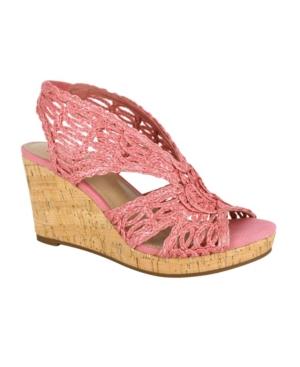 Terinee Woven Raffia Wedge Sandal Women's Shoes
