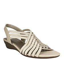 Women's Rassida Stretch Wedge Sandal