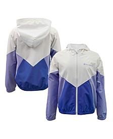 Big Girls Color Block Windbreaker Jacket