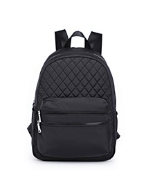 Bailey Diamond Quilt Backpack