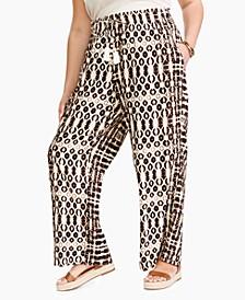 Plus Size Double-Elastic-Waist Pants, Created for Macy's