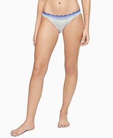 Women's Lace-Trim Bikini Underwear QD3838