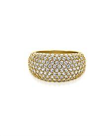 Women's Yiyi 18K Gold Plated Brass Ring