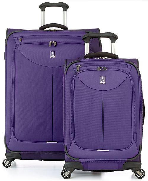 Travelpro CLOSEOUT! 65% OFF WalkAbout 2 Spinner Luggage, Created for Macy's