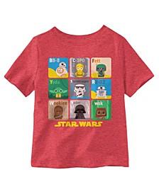 Little Boys Star Wars Alphabet T-Shirt