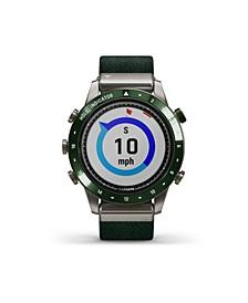 Unisex Marq Golfer Nylon Strap Smart Watch 30.4mm