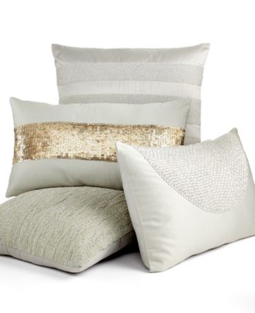 Hotel Collection Finest Seafan Decorative Pillow Collection - Decorative Pillows - Bed & Bath ...