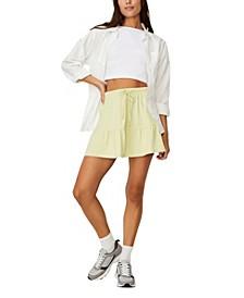 Women's Tori Tiered Mini Jersey Skirt