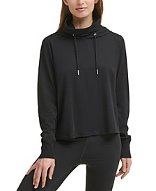 Women's Face-Cover Hoodie