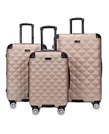 Diamond Tower 3-Pc. Hardside Expandable Luggage Set