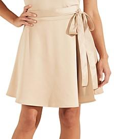 Leda Tie-Waist Skirt