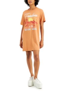 Juniors' Open Road T-Shirt Dress
