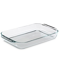 "15"" x 10"" Large Glass Baking Dish"
