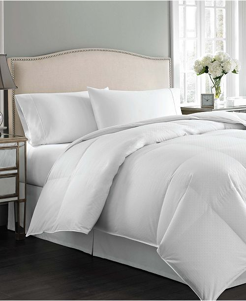 Charter Club CLOSEOUT! Vail Level 3 European White Down Full/Queen Comforter, Medium Warmth Hypoallergenic UltraClean Down, Created for Macy's