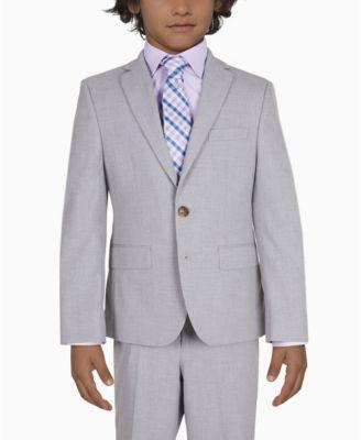 로렌 랄프로렌 Lauren Ralph Lauren Big Boys Sport Coats,Light Gray