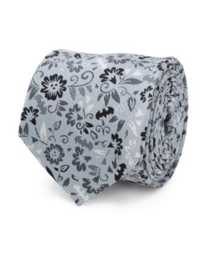 Men's Batman Patterned Floral Tie