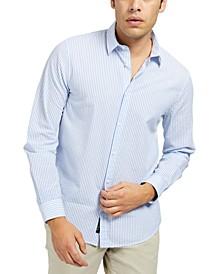 Men's Seersucker Stripe Shirt