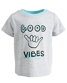 Baby Boys Good Vibes Cotton T-Shirt, Created for Macy's