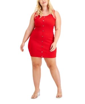 Trendy Plus Size Mini Tank Dress