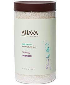 Mineral Bath Salt Calming Lavender, 32 oz