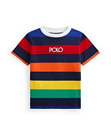 Little Boys Logo Striped Jersey T-shirt