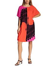 Global Printed Caftan Dress
