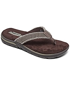 Men's Relaxed Fit Supreme - Bosnia Thong Sandals from Finish Line
