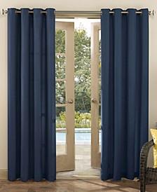 """Sailor Indoor-Outdoor Ultraviolet Protectant Room Darkening Grommet Curtain Panel, 84"""" L x 54"""" W"""