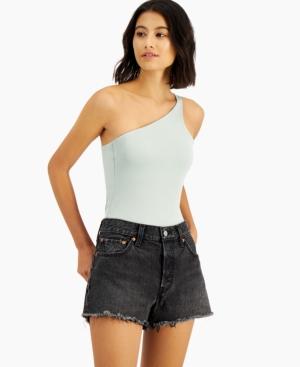 Calvin One-Shoulder Bodysuit