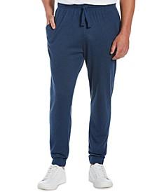 Men's Solid Double-Knit Jogger Pants
