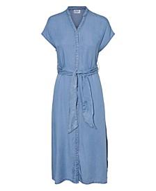 Plus Size VMA Curve Long Belt Dress