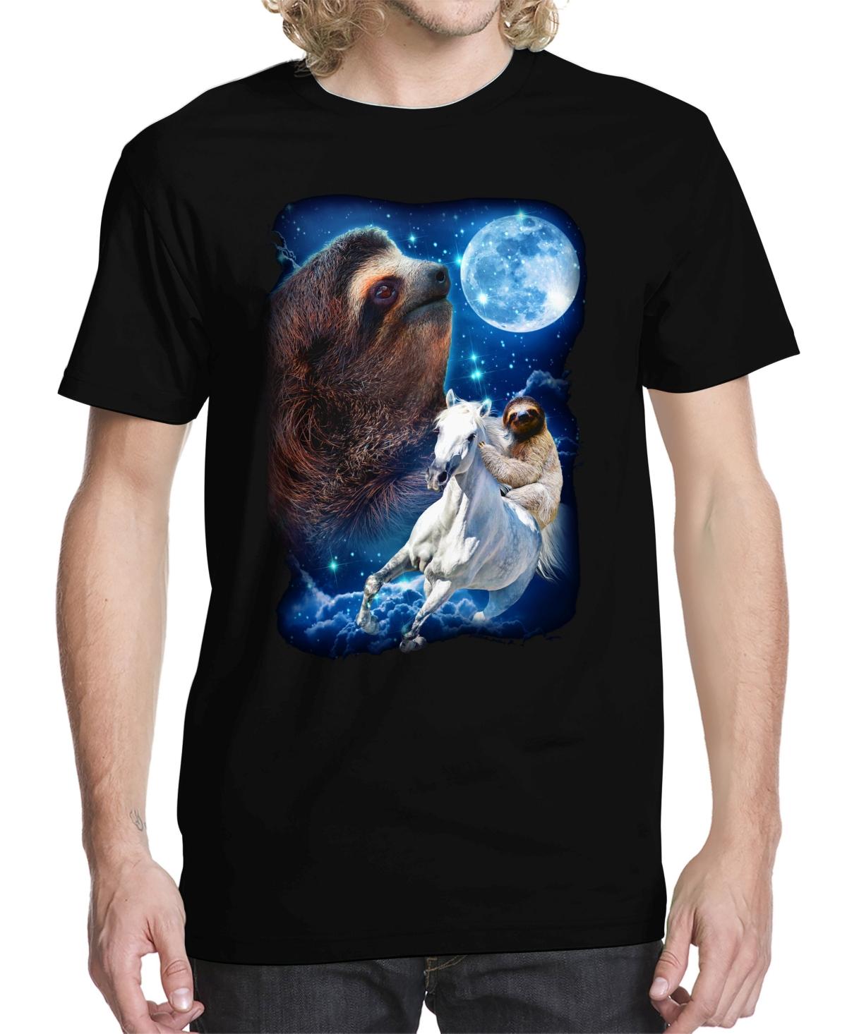 Men's Sloth Majestic Graphic T-shirt