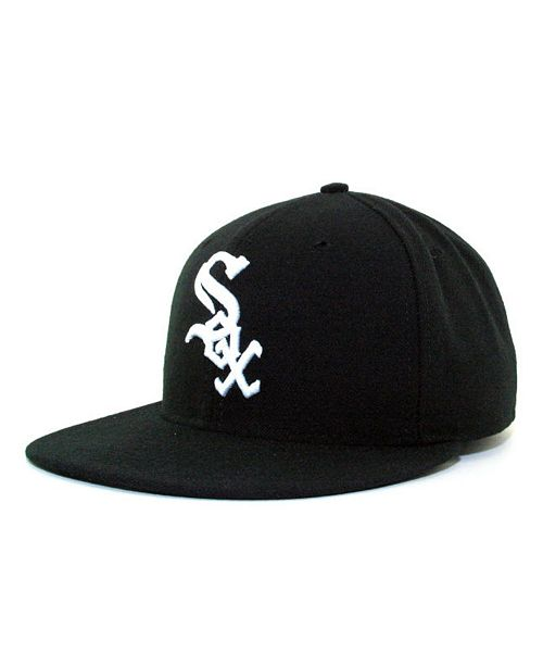3f74ad39c44 ... New Era Chicago White Sox MLB Authentic Collection 59FIFTY Fitted Cap  ...