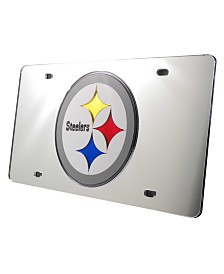 Rico Industries Pittsburgh Steelers License Plate