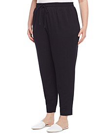 Plus Size Serenity Pull-On Joggers