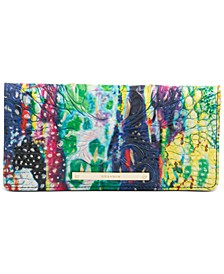Melbourne Embossed Leather Ady Wallet