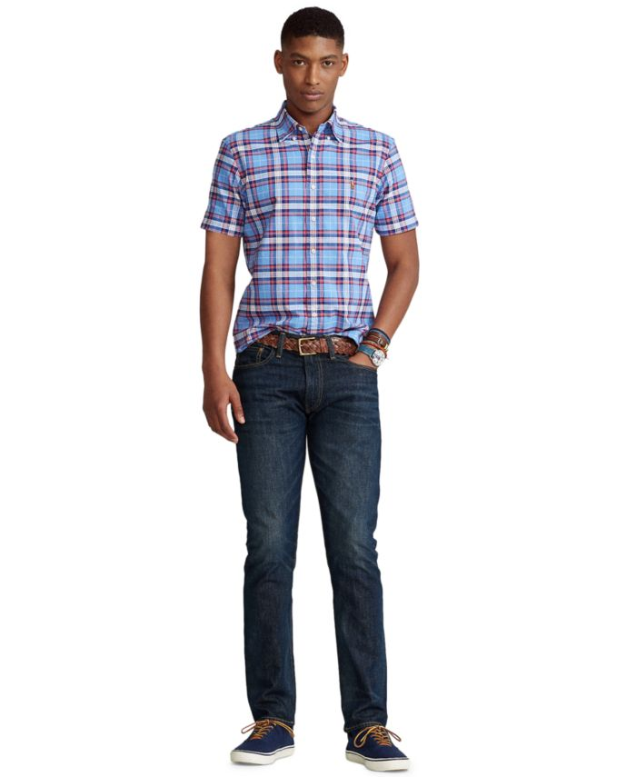 Polo Ralph Lauren Men's Classic-Fit Oxford Shirt  & Reviews - Casual Button-Down Shirts - Men - Macy's