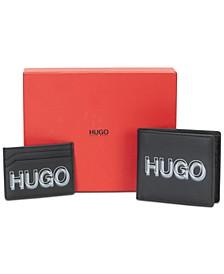 Leather Wallet & Card Holder Gift Set