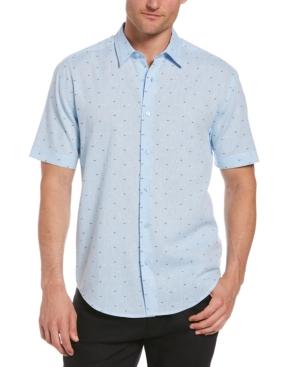Men's Short-Sleeve Dobby Shirt