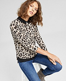 Cashmere Layered-Look Sweater, In Regular and Petites, Created for Macy's